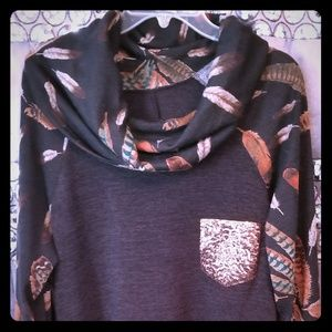 Tops - Fabulous cowl neck sweater